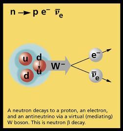 Decaimiento del neutrón